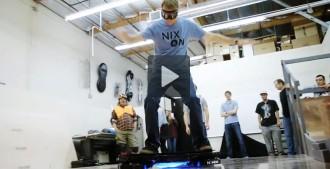 L'skate de «Regreso al futuro» es fa real
