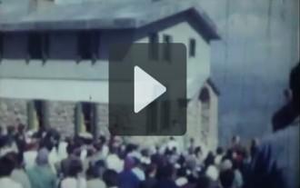 El vídeo de la inauguració del Refugi d'Ensija l'any 1964
