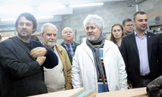 Pedro Almodóvar visita l'ESCAC