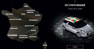 Citroën ofereix personalitzar un dels seus cotxes amb una bandera