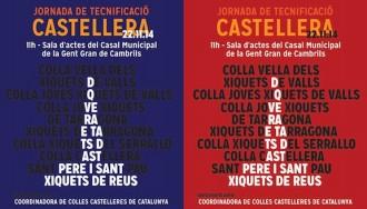 Totes les xerrades de la jornada de tecnificació castellera a Cambrils