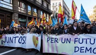 D'Espanya i catalans s'avança a SCC i convoca la marxa pel 6-D