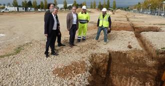 Comencen les obres per construir una zona poliesportiva d'un milió d'euros