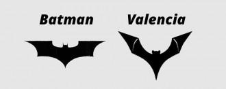 Batman, contra el València pel ratpenat del seu escut