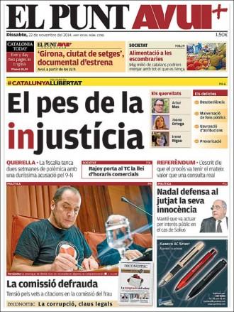 «El pequeño Nicolás: Yo colaboraba con el CNI, Moncloa y Zarzuela», a la portada d'«El Mundo»
