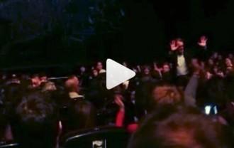 Vídeo: Artur Mas és aclamat quan assisteix a «Mar i cel»