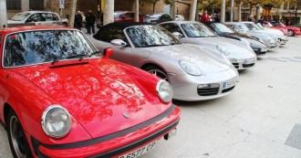 Uns 16 Porsches han visitat Solsona