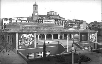 Fins a quatre mercats municipals s'han succeït al mateix lloc d'Olot
