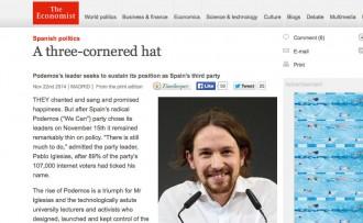 Vés a: «The Economist» veu «difícil» que els resultats de Podem a les enquestes es converteixin en «vots reals»