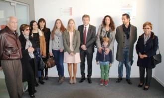 El Casal Cívic de Solsona duu una placa en record de Xavier Jounou i Bajo