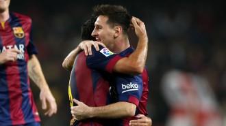 Un Messi de rècord supera el Sevilla