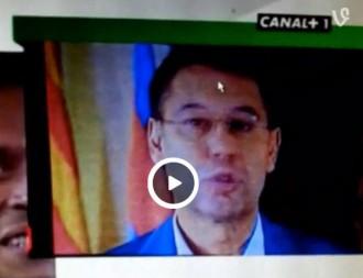 Vídeo: El Camp Nou xiula Josep Maria Bartomeu en l'homenatge a Messi