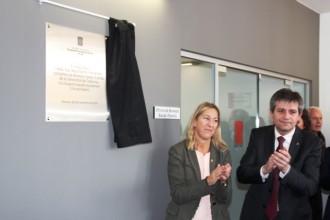 La consellera Munté inaugura el Casal Cívic Xavier Jounou i l'Oficina de Benestar Social de Solsona