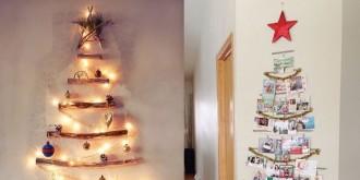 7 idees originals per fer un arbre de nadal diferent [FOTOS]