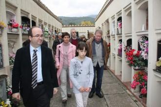 Iceta reivindica a Maià de Montcal el tarannà «dialogant» d'Ernest Lluch