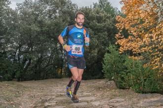 Josep Mas, el més ràpid a la Centúria Trail de la via romana del Capsacosta