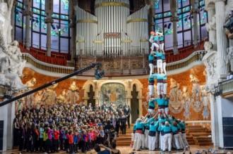 Vés a: El Palau de la Música felicita el 2015 amb un espot amb 1.300 persones