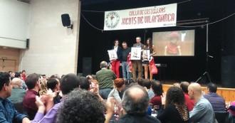 Els Xicots de Vilafranca acaben l'any amb el sopar i els «Xicot insígnia»
