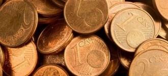 Els bancs volen fer desaparèixer les monedes d'un i dos cèntims