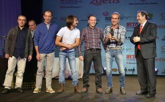 Una granja de Sant Martí de Centelles conquereix els premis Porc d'Or 2014