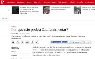 Vés a: Mas acusa l'Estat de «menysprear i amenaçar» Catalunya