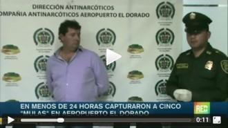 Detenen a l'aeroport de Bogotà dos bagencs que feien de «mula»