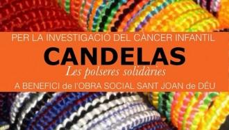 Els Castellers de Vilafranca, contra el càncer infantil