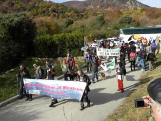 La Coordinadora per a la Salvaguarda del Montseny segueix lluitant contra l'asfalt