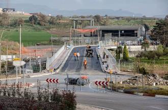 El trànsit del pont de la Gleva es reobrirà a finals d'aquesta setmana