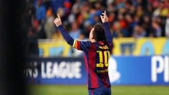 El Barça destrossa l'APOEL i Messi segueix sumant rècords (0-4)