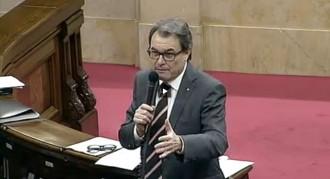 Vés a: En directe: Sessió de control a Artur Mas