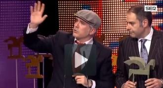 Marcelí del Versió RAC1 crida un «Visca Catalunya lliure» als Premis Ondas