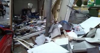 Vés a: Un tornado provoca destrosses prop de l'aeroport de Màlaga
