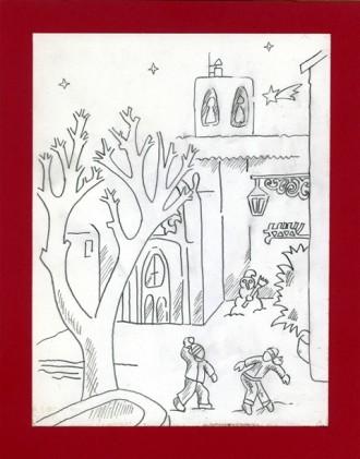 L'artista Ton Casserras és l'autor de la portada de l'agenda de Nadal de Solsona