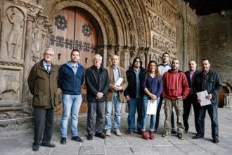 Ripoll exhibeix unitat política per impulsar la candidatura de la Portalada