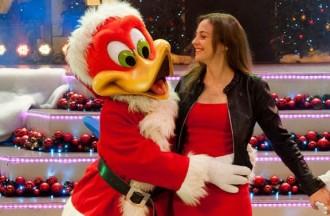 Port Aventura presenta la campanya de Nadal de mans de Leonor Watling