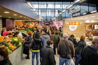 La nova Plaça Mercat guanya un 40% de clients un any després del trasllat