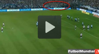 Un suposat «fantasma» en un partit de futbol crea expectació a l'argentina