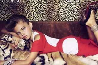 Vés a: Què fa una nena de nou anys posant de manera sensual a les revistes de moda?