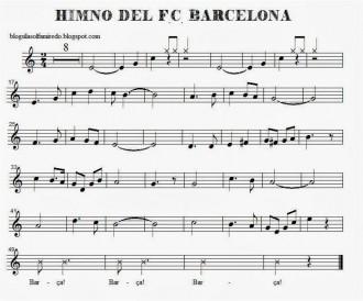 Vés a: El Barça troba la partitura del primer himne del club