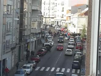 Dos morts en un tiroteig durant un assalt a un banc de Vigo