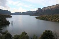 El volum d'aigua del pantà de Sau creix el 25% en només quatre dies