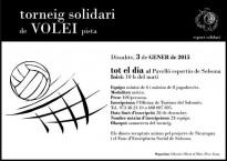 Torneig Solidari de Volei Pista