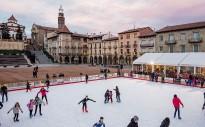 Les pistes de gel del Badanadal marquen l'inici de les festes a Manlleu
