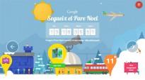 Google s'imagina com és el poble del Pare Noël i convida a jugar-hi