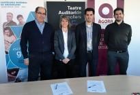 El grup Àgora, nou patrocinador del Teatre Auditori de Granollers