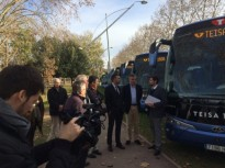 L'empresa d'autobusos Teisa inverteix 1,7 MEUR en renovar la seva flota