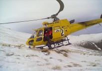 Un excursionista, ferit en relliscar 250 metres al Fontlletera, a Vilallonga