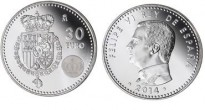 La primera moneda de Felip VI surt a la venda per 30 euros