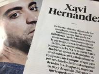 Xavi Hernàndez explica el seu independentisme a El País